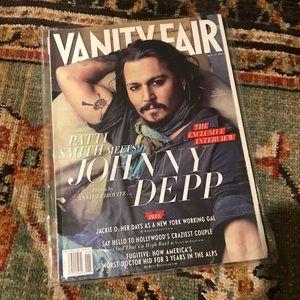 Vanity Fair January 2011 Johnny Depp